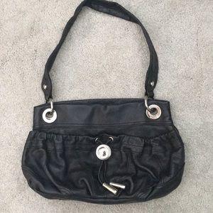 B Makowsky black Italian leather purse - USED ONCE